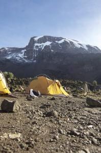 Climb-Mt. Kili Campsite